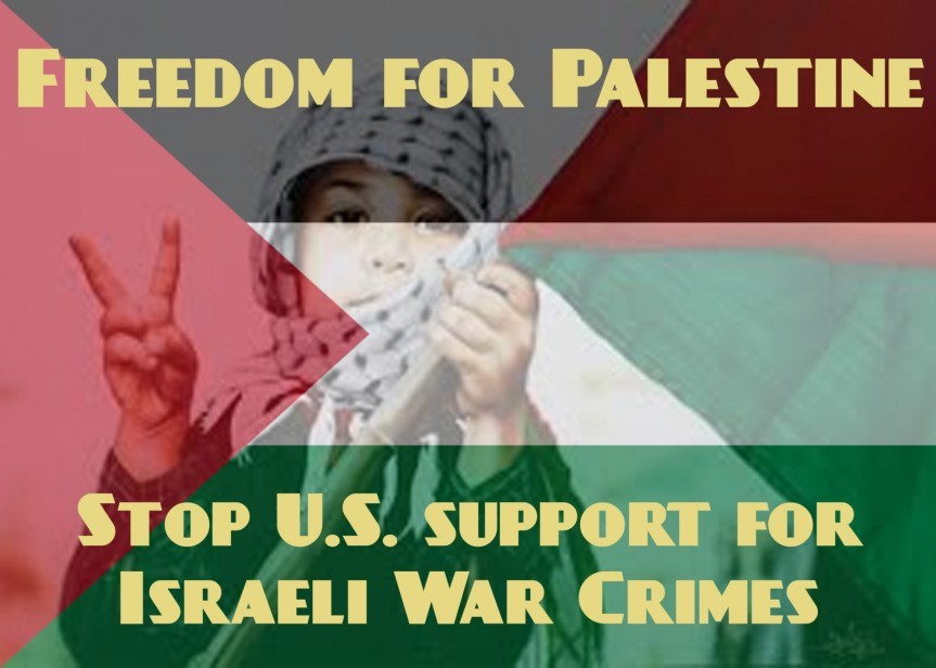 Hartford Rally and March Against Israeli War Crimes 7/31