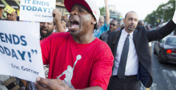 'It stops today!' — Eric Garner, NYPD victim