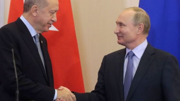 Oct. 2019 Erdogan & Putin (AFP)