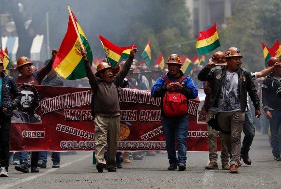 bolivia miners