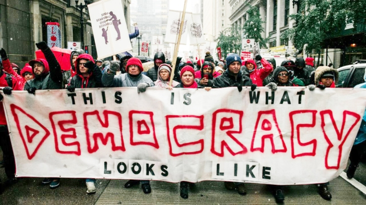 Nov. 2019 Chicago teachers (CNN)