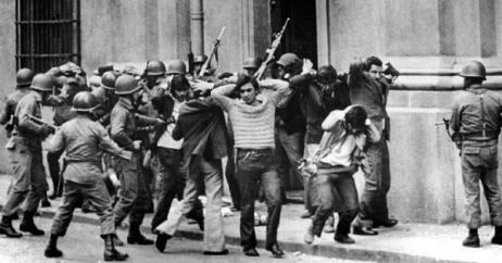 Nov. 2019 Chile repression 1973