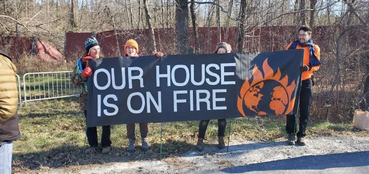 Nov. 2019 Climate NY protest