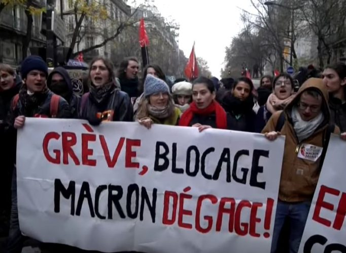 Dec. 2019 Paris strike