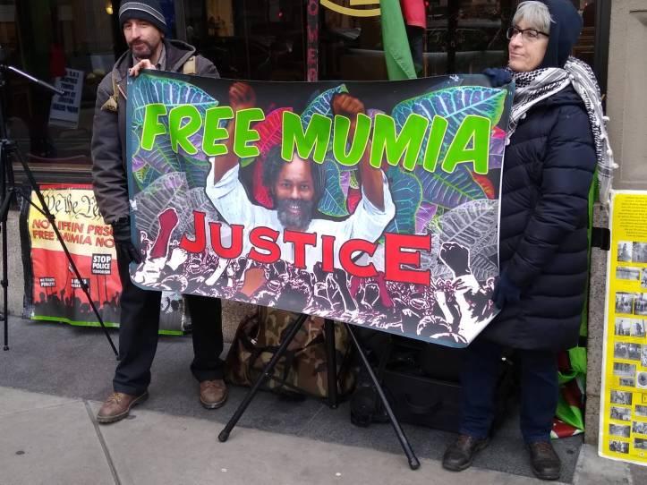 March 2020 Mumia rally