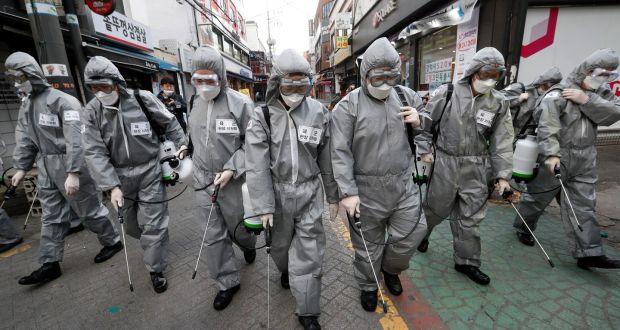 March 2020 Seoul Korea virus (AP)