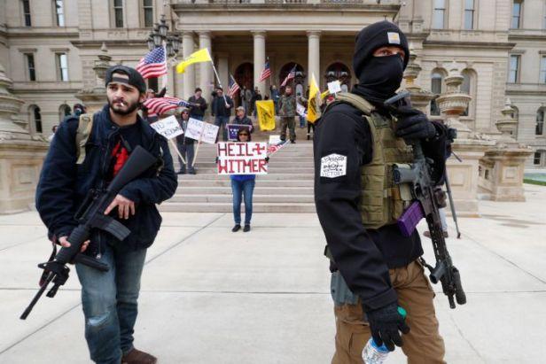 April 2020 Mich. rightists (AP)